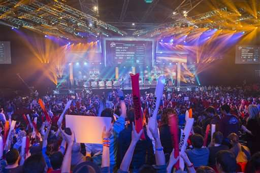 For marketers, esports an enticing way to reach millennials