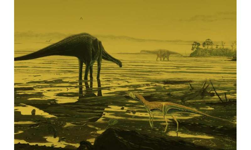 Fossil dinosaur tracks give insight into lives of prehistoric giants
