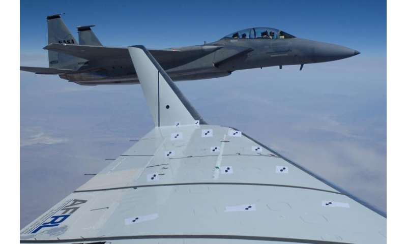 Green aviation project tests shape changing wing flaps