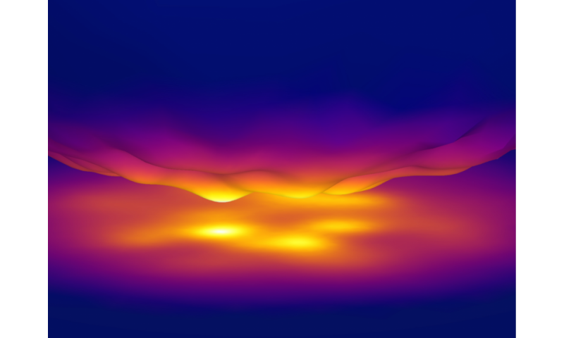 Heat radiates 10,000 times faster at the nanoscale