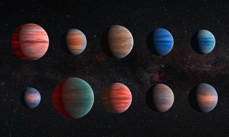 Hubble reveals diversity of exoplanet atmosphere