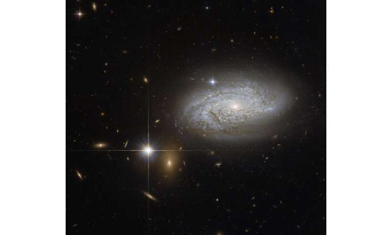 Hubble view of a cosmological measuring tape