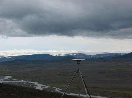 Iceland rises as its glaciers melt from climate change