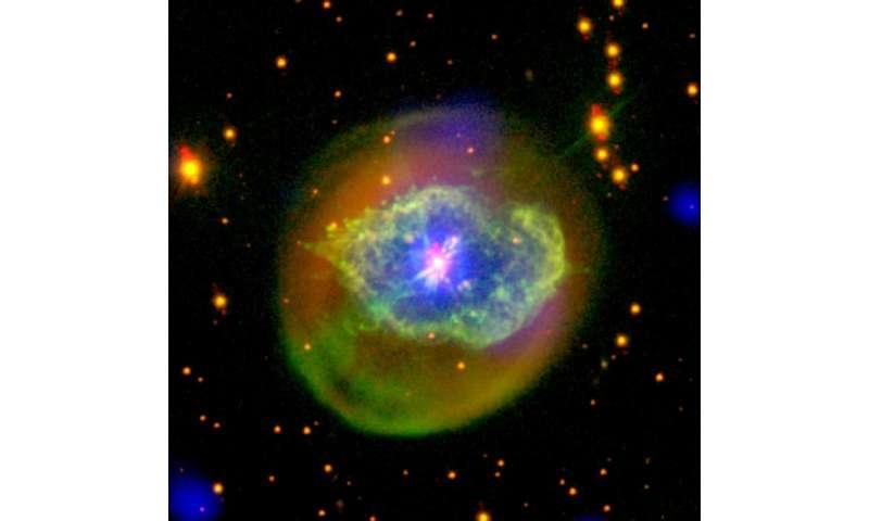 Image: Born-again planetary nebula