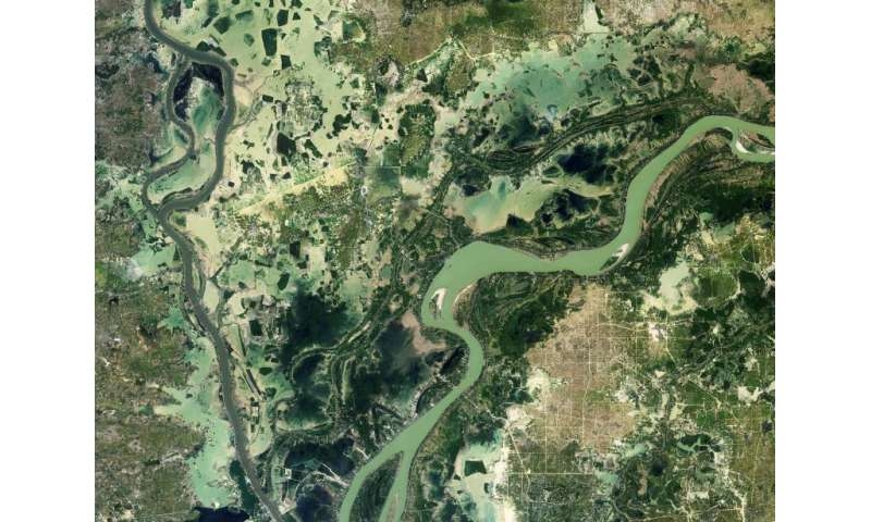 Image: Cambodian rivers from orbit