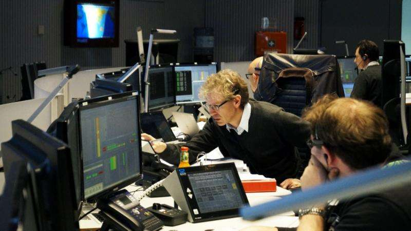 Image: Contingency training for the Sentinel-2 mission control team