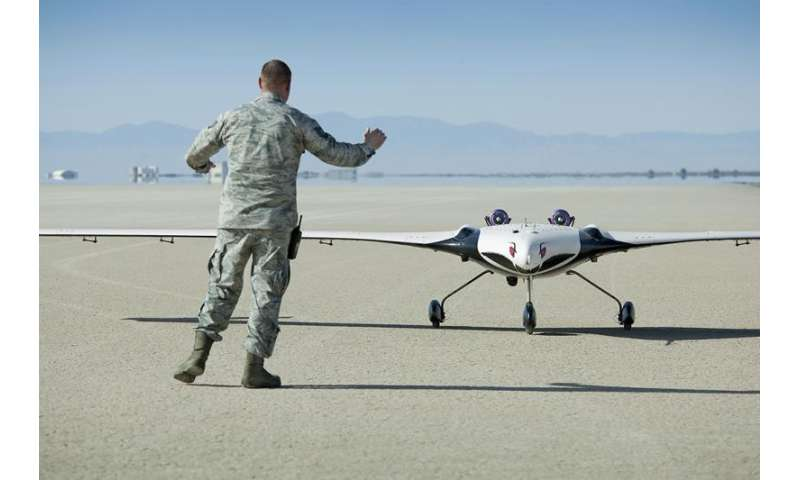 Image: Multi-utility technology testbed aircraft on the runway