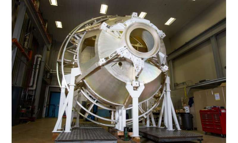 Image: Orion test lab mockup for next flight completed