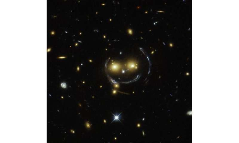 Image: Smile, and the universe smiles with you