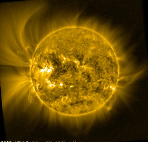 Image: Solar corona viewed by Proba-2Login | Register