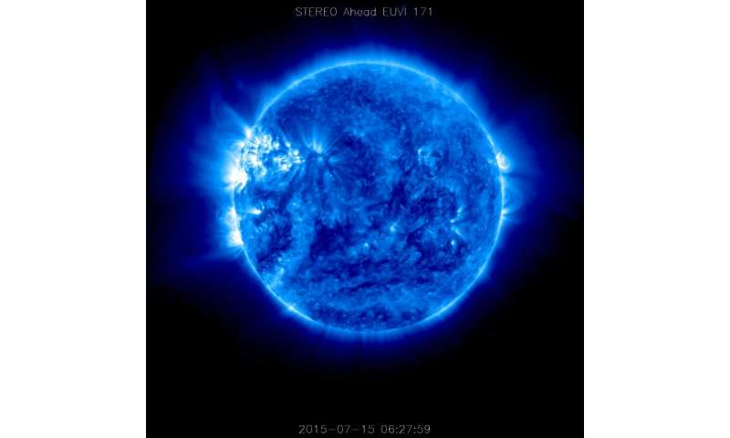 Image: STEREO-A spacecraft returns data from the far side of the sun