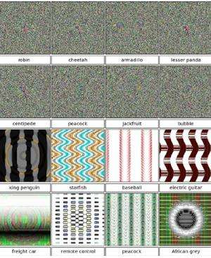 Images that fool computer vision raise security concerns