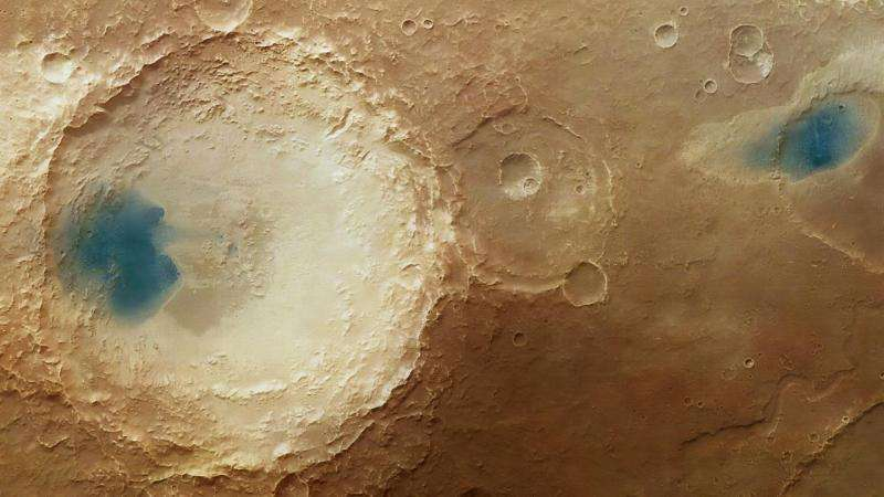 Image: The effect of the winds of Mars