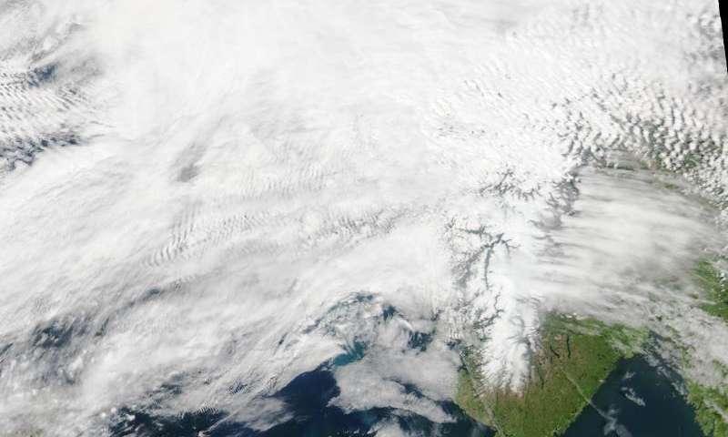 Image: The North Sea abloom