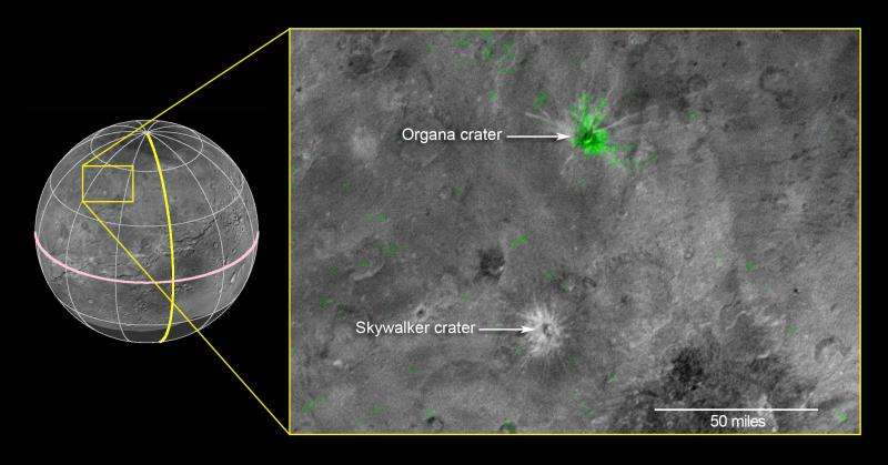 Image: The youngest crater on Charon?