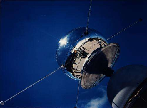 Image: Vanguard satellite, 1958
