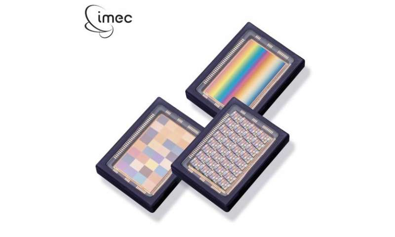 Imec introduces new snapshot hyperspectral image sensors with mosaic filter architecture