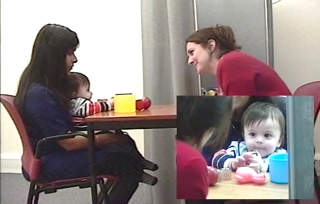 Infants with blind parents pay less attention to eyes