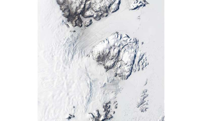 In Greenland, another major glacier comes undone