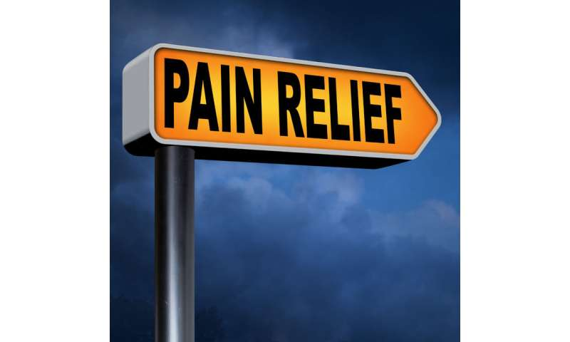 Intractable pain may find relief in tiny gold rods