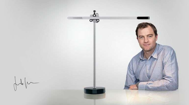 Inventor Jake Dyson Has LED Light With Cooling Solution