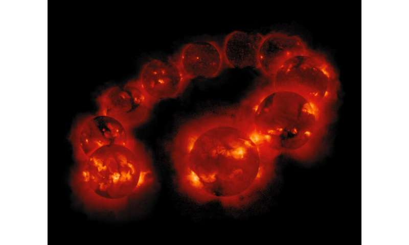 Irregular heartbeat of the Sun driven by double dynamo