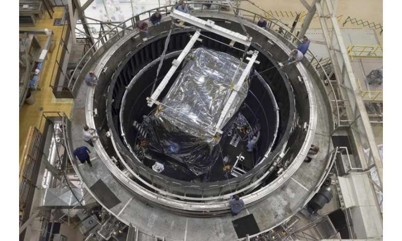 James Webb Telescope science instruments begin final super cold test