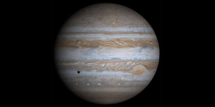 Jupiter's movements made way for Earth