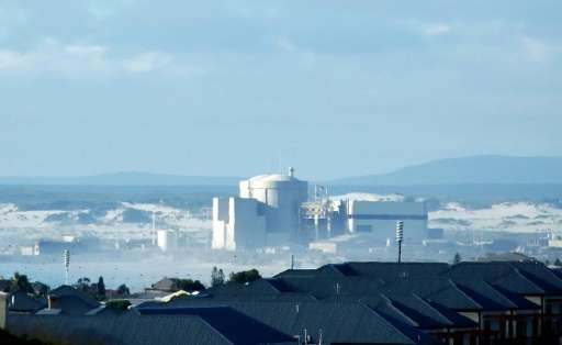 Koeberg Nuclear Power Station in South Africa is the only nuclear power plant on the African continent