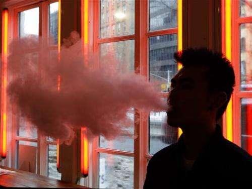 Lab tests imply formaldehyde risk in some e-cigarette vapor