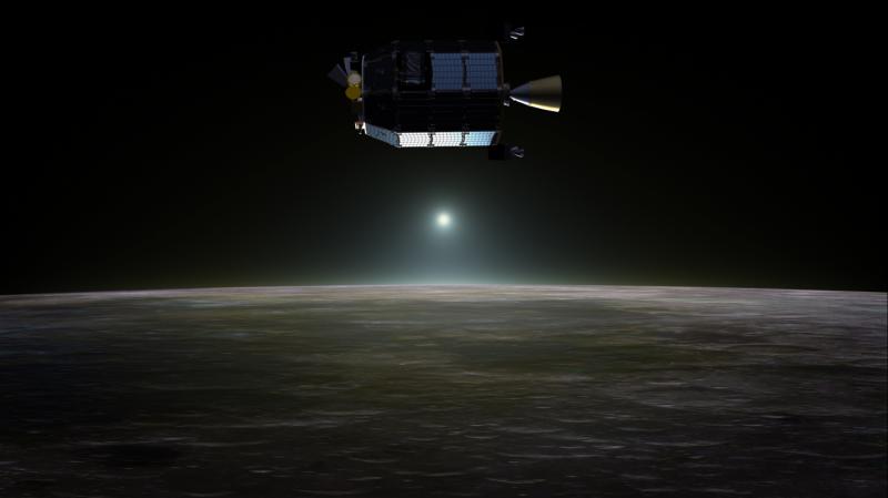 LADEE spacecraft finds neon in lunar atmosphere