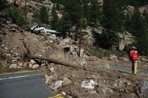 LiDAR studies of the Sept. 2013 Colorado Front Range flooding and debris flows