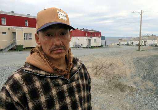 Local fisherman Lucassie Cookie, 47, says the summers are getting harder in the Inuit village of Umiujaq, with fewer fish and mo