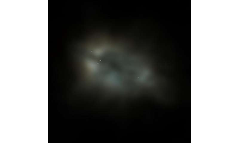Lofar's record-sharp image gives astronomers a new view of galaxy M 82