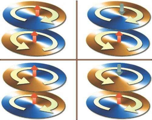 Magnetic vortices in nanodisks reveal information