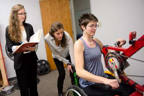Making wheelchair exercise equipment more accessible and adjustable
