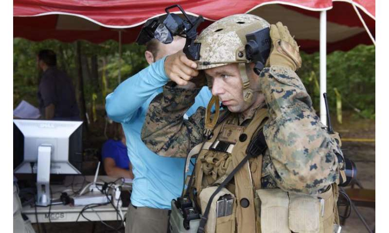 Marines put ONR's augmented reality system to the test with live-fire testing