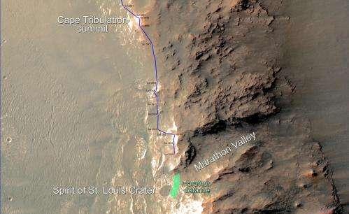 mars exploration rover achievements - photo #21