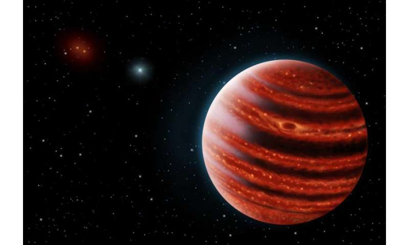 Methane, water enshroud nearby Jupiter-like exoplanet