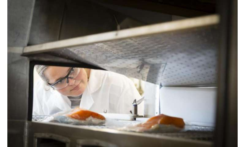 Method keeps salmon fresh for a month without the use of chemicals