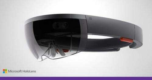 Microsoft debuts hologram goggles