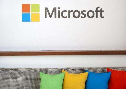 Microsoft reported that its quarterly profit dipped as revenue increased with help from sales of Surface tablets, Xbox One conso