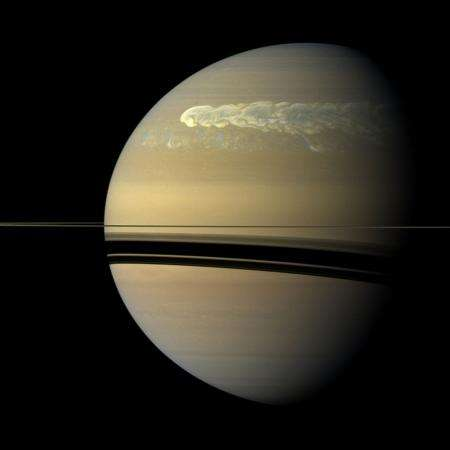 Moist explanation for Saturn's Great White Spots