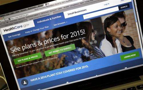 More privacy protection sought for feds' health care website
