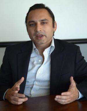 Muneeb Maayr, co-founder of the site Daraz.pk, which sees around 1,000 sales per day