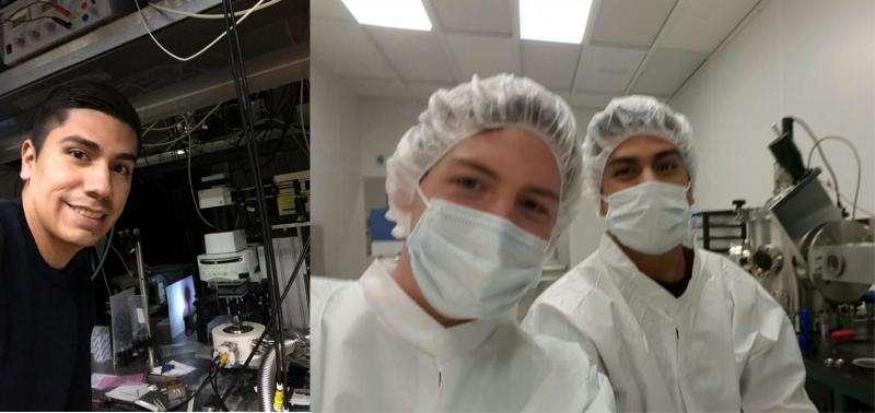 Nanoquakes probe new 2-dimensional material