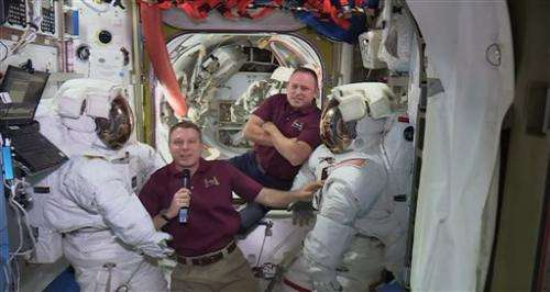NASA delays space station spacewalk because of suit issue