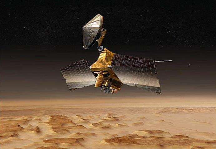 NASA Mars orbiter preparing for Mars lander's 2016 arrival