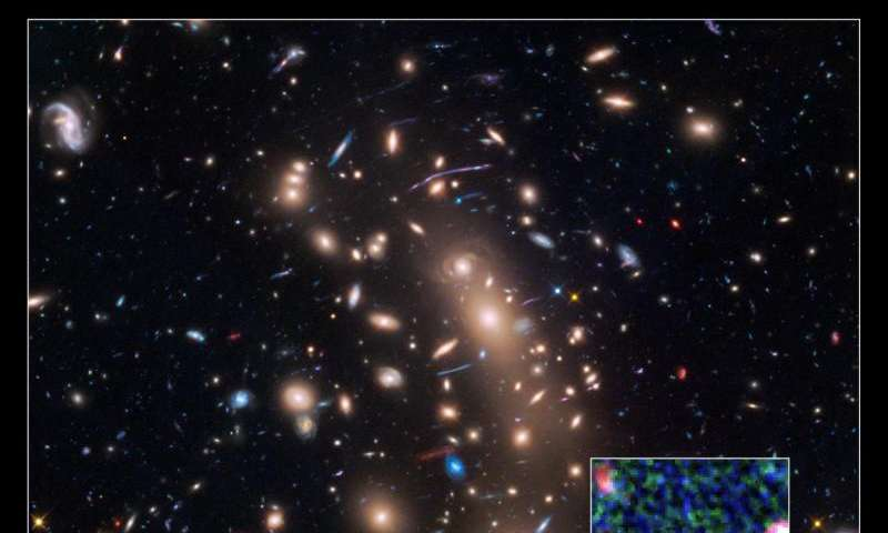 NASA space telescopes see magnified image of the faintest galaxy from the early universe
