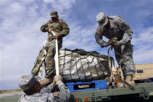 National Guard airlifts dino fossils out of wilderness